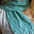 Lace Leaf Scarf #35