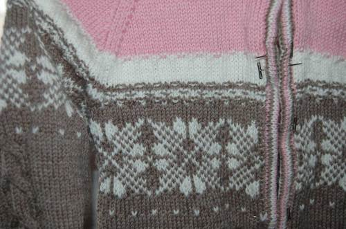 Beaner's Fair Isle sweater