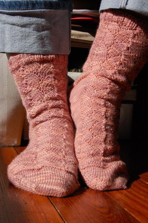 Shellac Socks