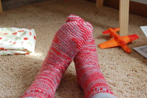 Buckeye Blast Socks
