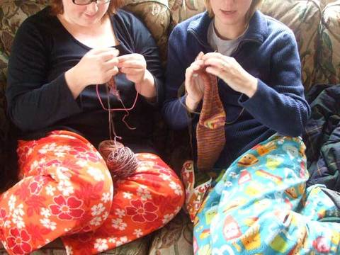 Knittinginaction